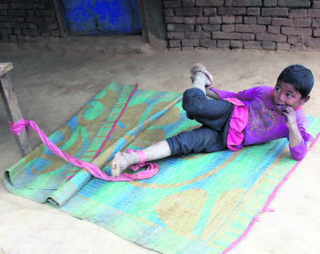 6-year old girl roped to wooden bed for two years