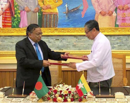 Myanmar, Bangladesh sign agreement on Rohingya refugees