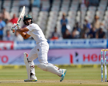 Bangladesh in trouble on day 3 against India