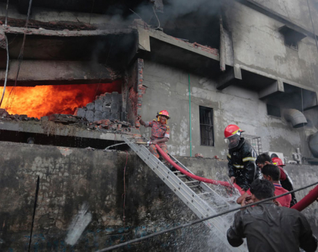 23 dead in explosion and fire at Bangladesh factory  (with video)