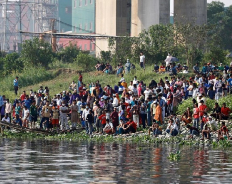 Bangladesh ferry sinks, five dead, many missing