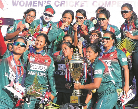 B'desh women claim gold, Anjali Chand awarded best player