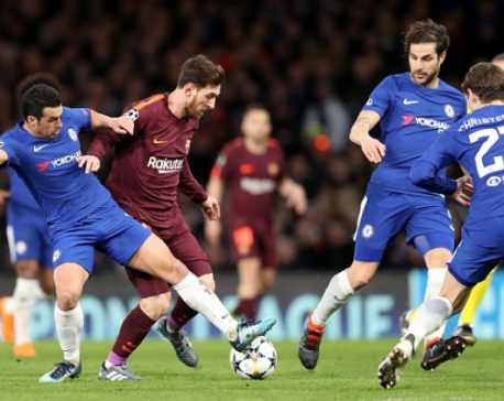 Barcelona looking to get past Chelsea for the first time since 2006