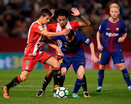 Girona a hard nut to crack for Barcelona