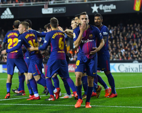 Barcelona hoping to tidy up some lost grounds against Celta