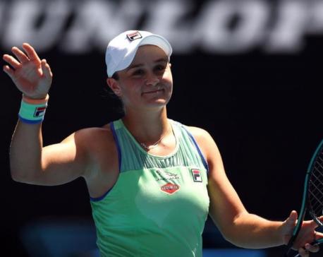 Barty wins quarter-final rematch against Kvitova