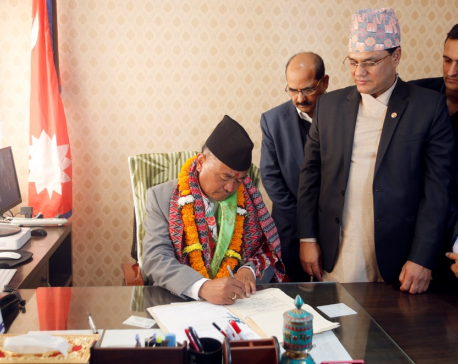 National projects are on govt's priority: Minister Nembang