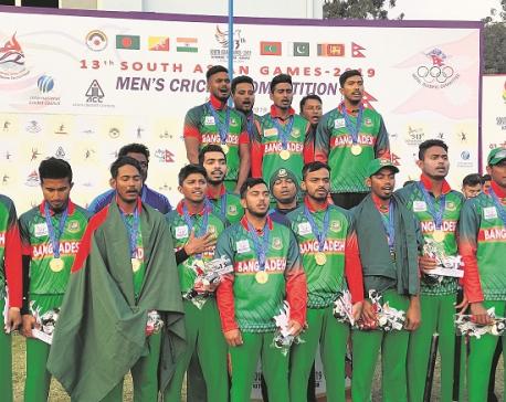 Cautious B'desh U-23 secures gold medal, Nepal gets historic bronze