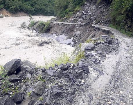Beni-Jomsom road to remain closed till Thursday