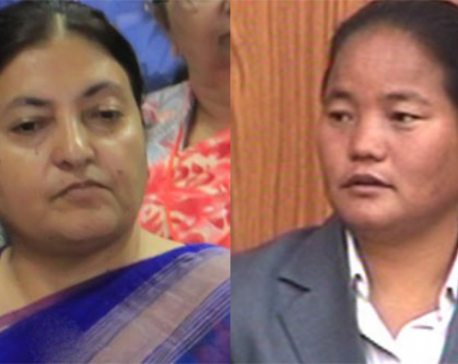 Speaker Gharti meets Prez Bhandari, apprises her of parliamentary proceedings