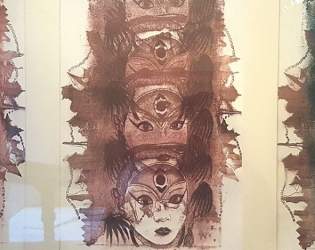 Bhavika's Lithography On Display In Layers