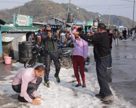 Hailstorm lashes east Nepal (with photos)