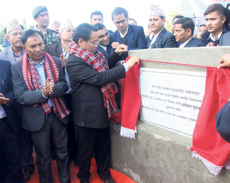 Foundation stone for dam, powerhouse of Bheri-Babai laid