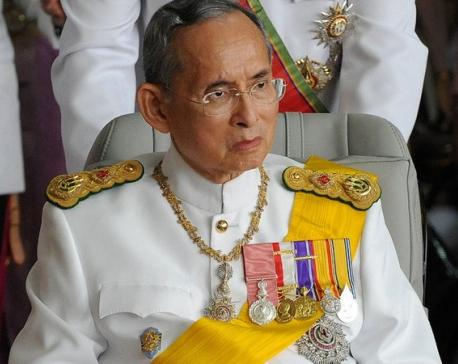 Thai King Bhumibol, world's longest-reigning monarch, dies