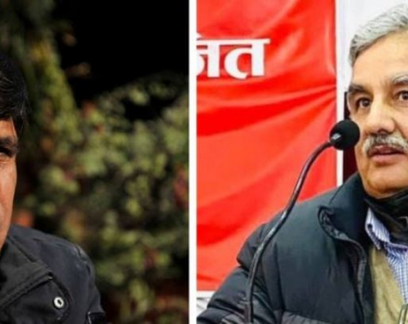 UML's Madhav Nepal-led faction condemns action taken against Pandey, Bhusal