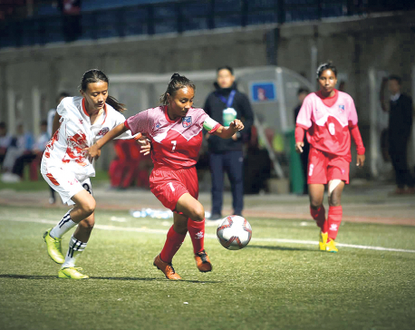 Bhutan holds Nepal to 1-1 draw
