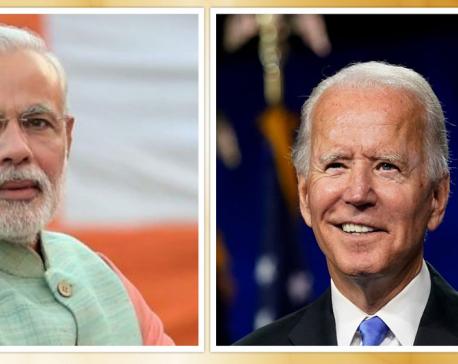 Modi calls Biden to advance strategic ties