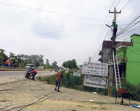 Locals worried by 'unmanaged' high voltage power lines