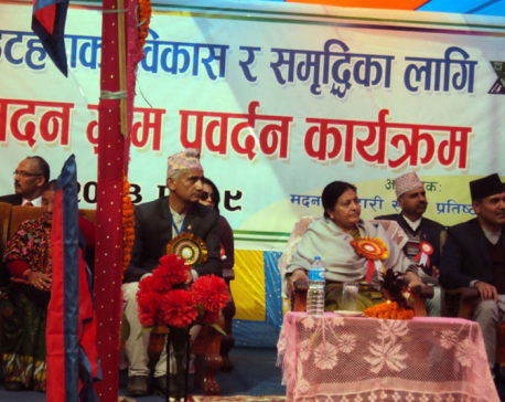 President Bhandari underscores common viewpoint on development agenda
