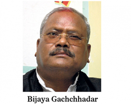 Gachchhadar suspended as MP, Congress cries foul