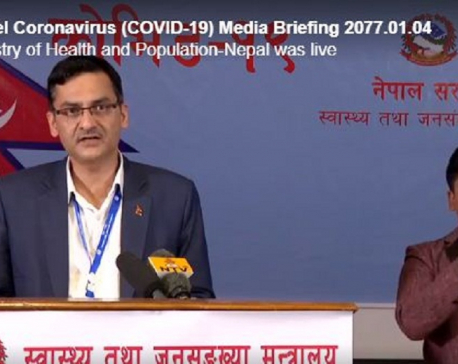 Health Ministry provides latest update on COVID-19 in Nepal (with video)