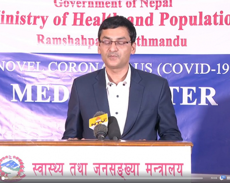 MoHP provides latest update on COVID-19 in Nepal (with video)
