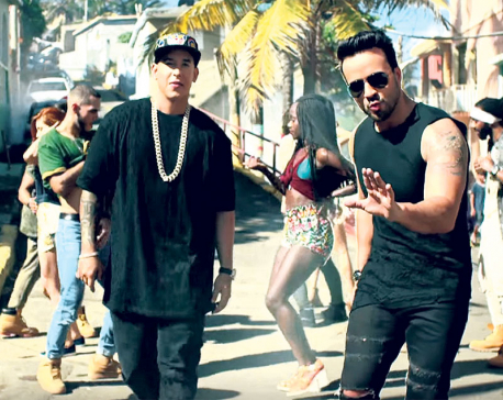 'Despacito' ties Mariah Carey's 16-week record at number one
