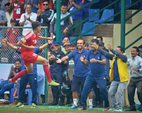 Bimal inspires Nepal U-23 to victory over BangladeshU-23