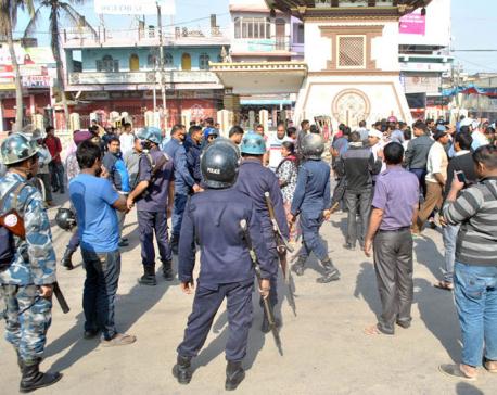 Businessmen and UDMF cadres clash in Birgunj