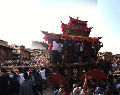 IN PICS: Biska Jatra kicks off in Bhaktapur