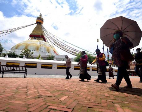 Recording of Tik Tok videos banned around Boudhanath Stupa
