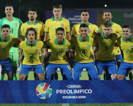Brazil qualify for 2020 Olympic men's tournament