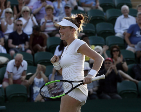 2-time Wimbledon champ Kvitova stunned by American Brengle