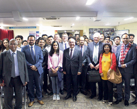 UK MPs at The British College