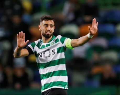 Manchester United hold talks with Sporting Lisbon to sign Fernandes - reports