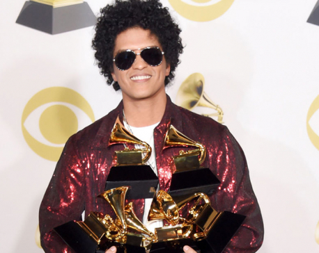 Bruno Mars triumphs at Grammys; Jay-Z is biggest loser