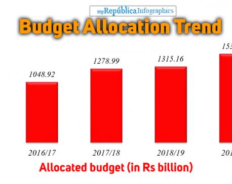 Govt plans a big budget despite pressure on finances