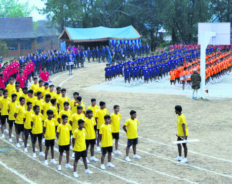 Budhanilkantha Annual Sports Day concludes