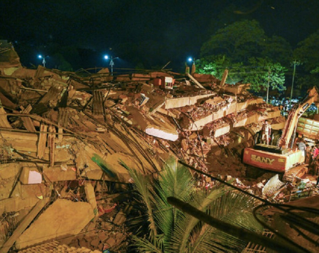More than 60 survivors pulled from collapsed building in India
