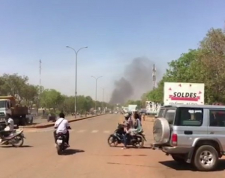 Explosions rock Burkina Faso capital in extremist attack
