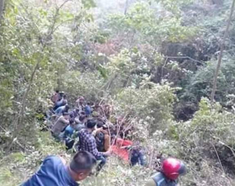 UPDATE: Bus crash kills 18 injuring 11 others in Arghakhanchi (with photos)