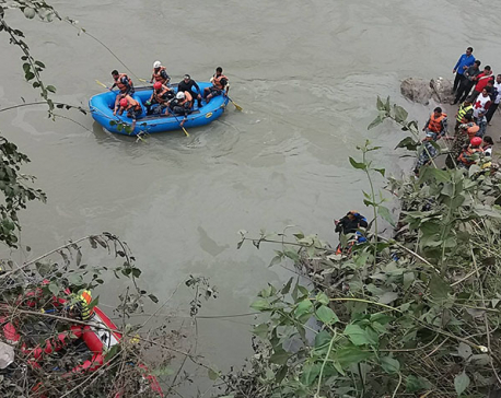 19 died, 16 rescued alive in Trishuli bus plunge