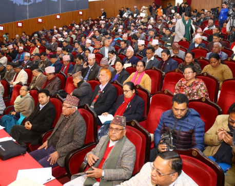 NCP chairperson Dahal proposes party's general convention from April 7 to 12 next year