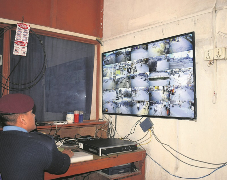 CCTV cameras installed in Siddharthanagar Municipality
