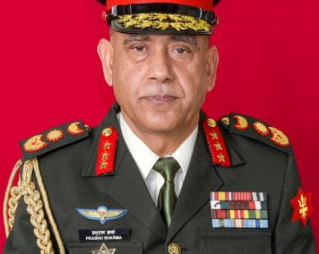 Prabhu Ram Sharma is new Army Chief