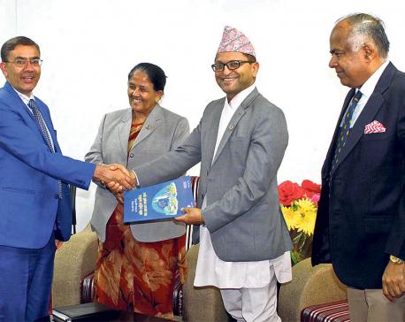 CNI hands over economic prosperity roadmap to Speaker Mahara
