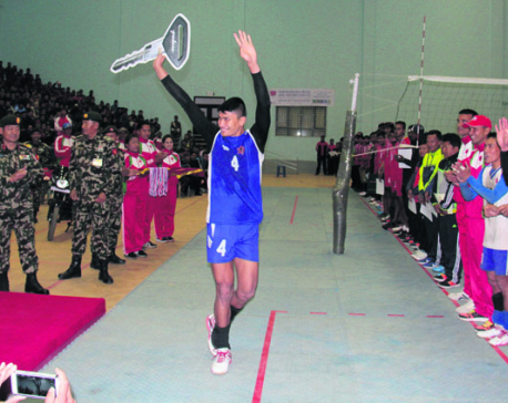 Army defends CoAS volleyball title