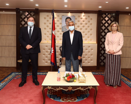 PM reiterates Nepal's commitment to 1.5 degree pathways to address the problems caused by climate change