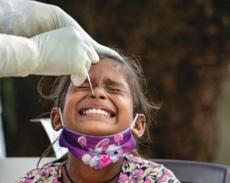 12 children from single village in Parbat infected with COVID-19