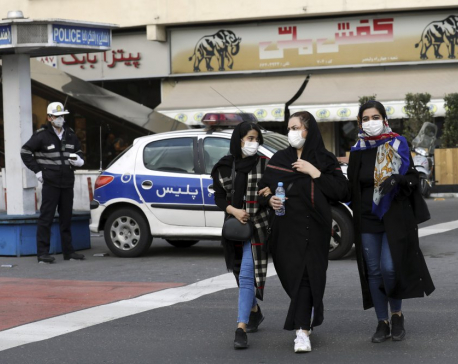 Iran news agency: Death toll from new virus in Qom is at 50